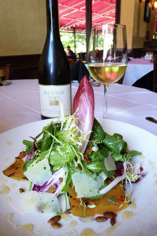 Grilled Pumpkin Salad is a seasonal offering at The Union Kitchen. Photo: Courtesy Photo, The Union Kitchen