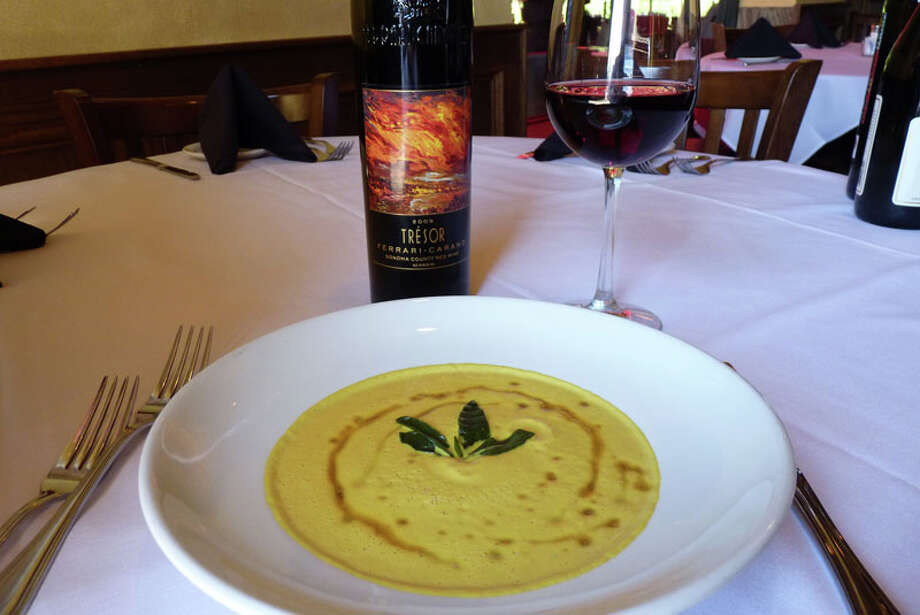 Pumpkin Bisque is a seasonal offering at The Union Kitchen. Photo: Courtesy Photo, The Union Kitchen