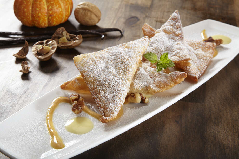 Pumpkin Wontons are filled with pumpkin and cream cheese at P.F. Chang's. Photo: Courtesy Photo, P.F. Chang's