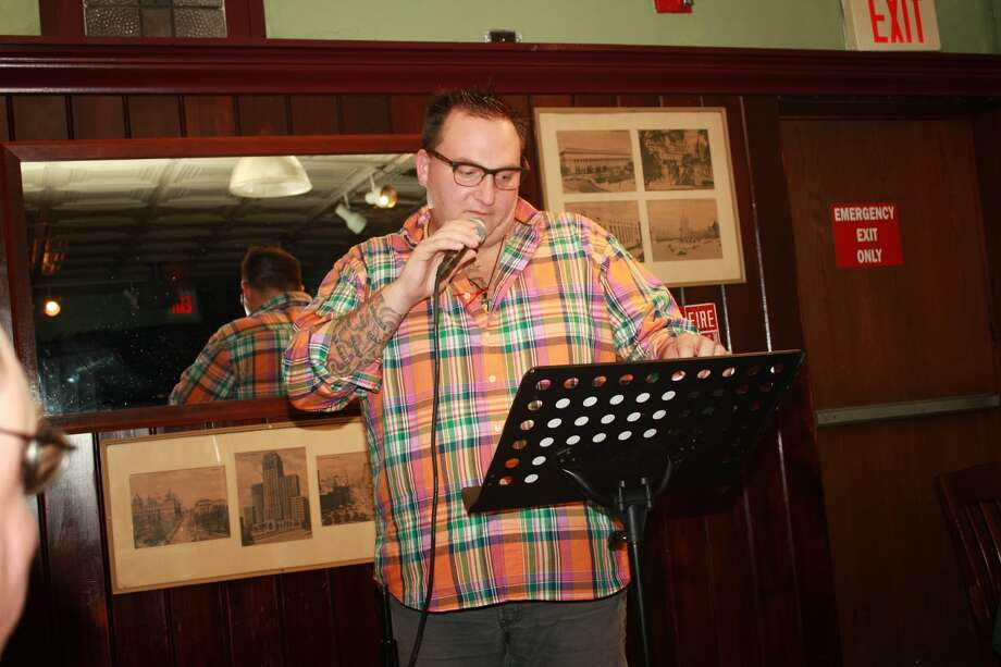 Albany resident and poet Adam Tedesco will take the stage at McGeary's on Monday. (Albany Poets)