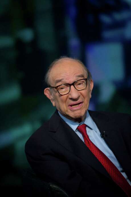 Alan Greenspan, former Federal Reserve chairman and president and founder of Greenspan Associates, has long -- and incorrectly -- predicted looming debt disaster. Photo: Scott Eells, Bloomberg / © 2013 Bloomberg Finance LP