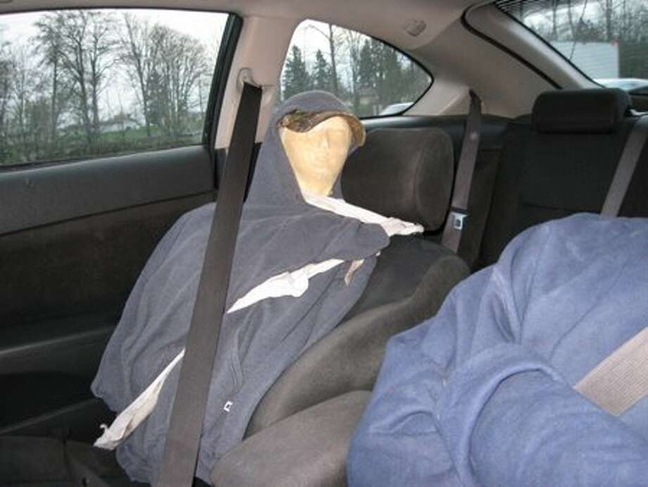 Seatbelt? Check. Hoodie? Check. The lean-back? Check. 