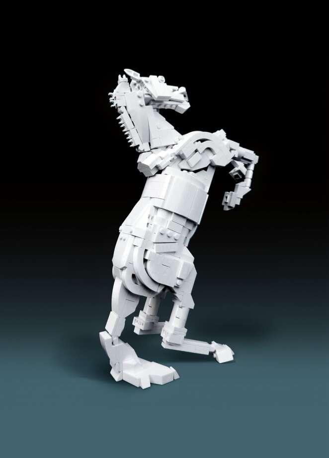 Rearing Stallion (2011) © Tim Goddard