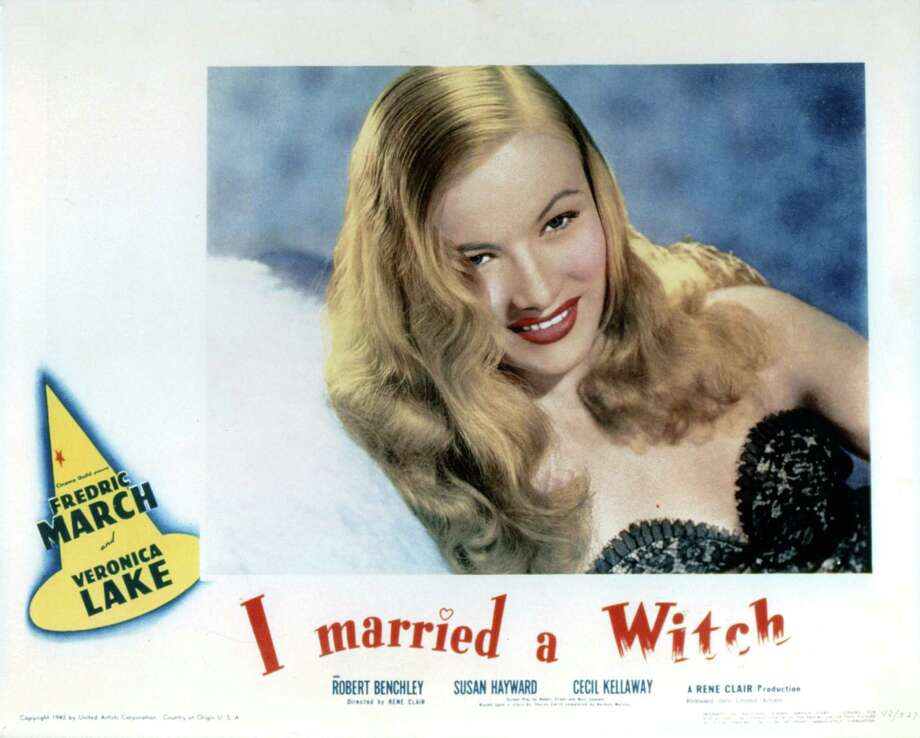 """Veronica Lake casts a spell in the 1942 romantic comedy """"I Married a Witch,"""" just reissued by Criterion. Photo: Getty Images"""