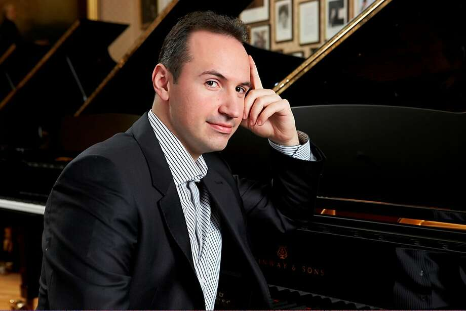Pianist Simon Trpceski gave a crisp, dynamic performance. Photo: Lube Saveski