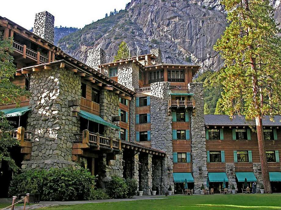 The Ahwahnee Hotel is run by Delaware North, which says it owns the name as well as others linked to Yosemite National Park, a claim disputed by the National Park Service. Photo:  Credit Yosemite National Park