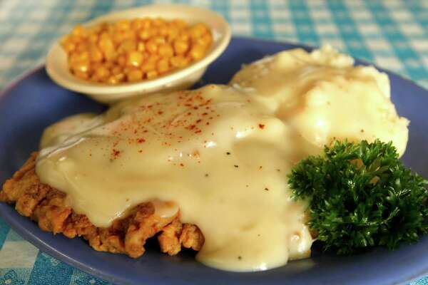 So many chicken-fried steaks, so little room in the stomach. Lots of places in San Antonio can claim to serve the best chicken-fried steak in town, but our vote goes to Radicke's Bluebonnet Grill, 237 N. W.W. White Road.  Just off I-10 East, this restaurant serves a version of the Texas diner classic that's worth seeking from any part of town. Crisp, well-seasoned batter surrounds a tender piece of beef with plenty of flavor of its own.  The batter retains much of its texture even after a generous ladling of tasty cream gravy. Add a side of sweet and buttery corn and made-from-scratch mashed potatoes, it's a hearty and tasty dish that feeds the tummy and the soul.