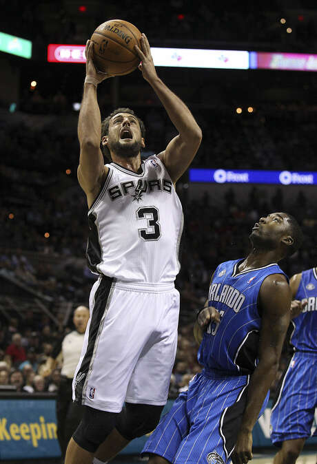 A scout calls signing Marco Belinelli one of the best moves any team made in the offseason. Photo: Kin Man Hui / Express-News