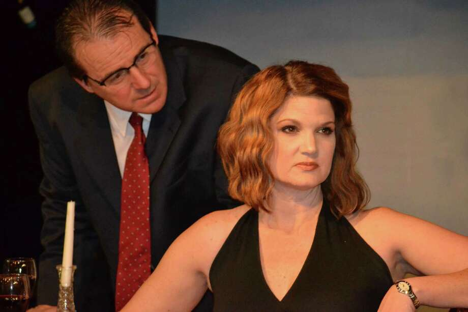 """Kevin Daugherty stars as Gerardo and Malinda L. Beckham is his wife, Paulina, in """"Death and the Maiden"""" at Theatre Southwest. Photo: Courtesy Of Grace Cone"""