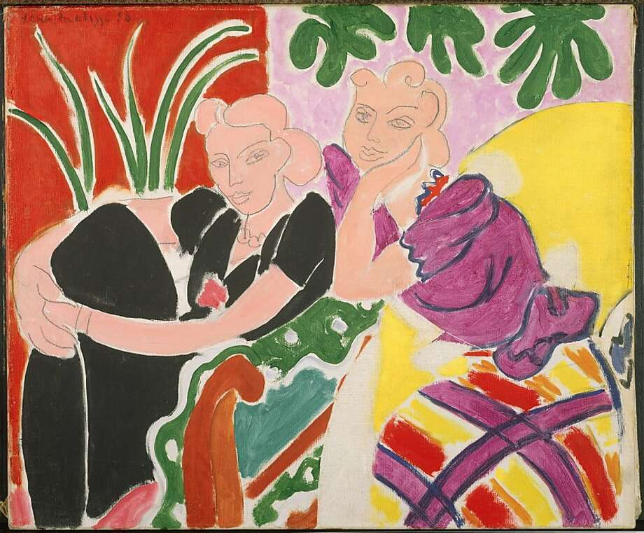 "Henri Matisse's oil painting ""The Conversation."" Photo: Sfmoma"