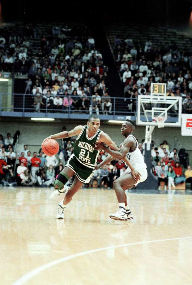 Steve Smith: Michigan State (1987–1991) Photo: Anonymous, Mysa / 1989 AP