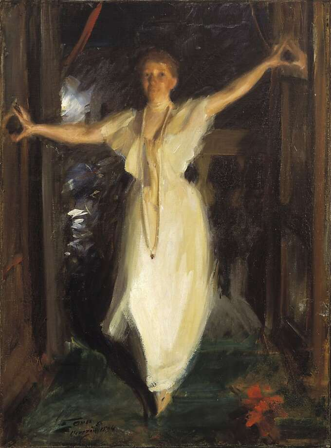 Anders Zorn Isabella Stewart Gardner in Venice, 1894 Oil on canvas 35 13⁄16 x 26 in. (91 x 66 cm) Isabella Stewart Gardner Museum, Boston Photos © Isabella Stewart Gardner Museum, Boston / The Bridgeman Photo: Isabella Stewart Gardner Museum