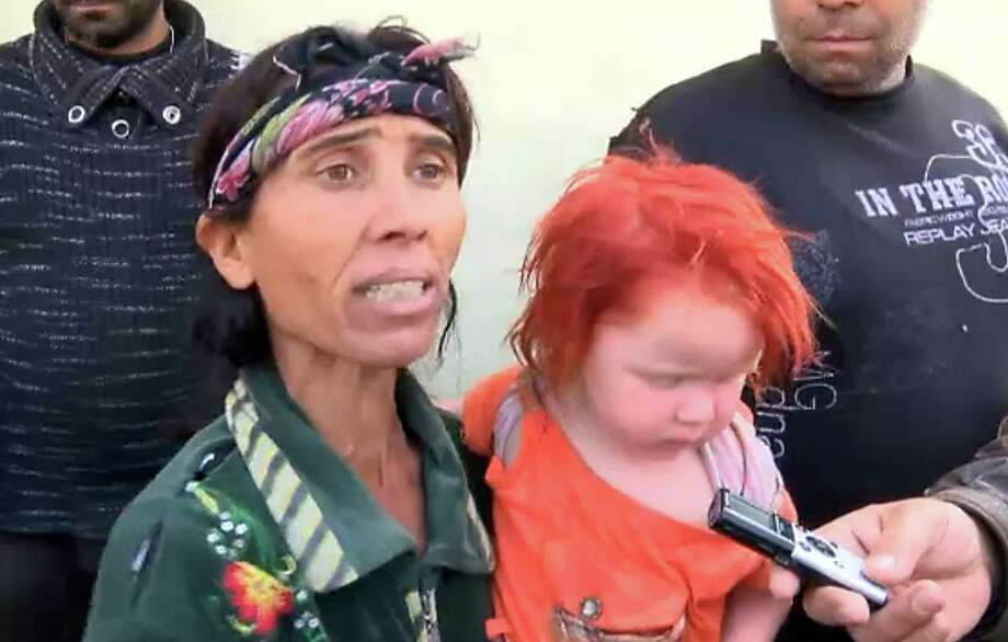"Sasha Ruseva may be the mother of a blond ""mystery girl"" found living with Gypsies. Photo: AFP / Getty Images"