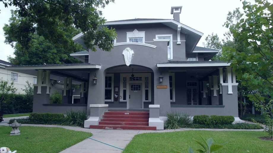 The Zen Center is in a 1918 Arts and Crafts-style home. Photo: Courtesy Of The Zen Center