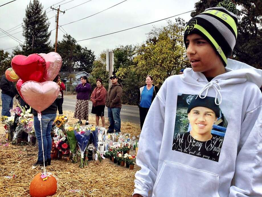 Luis Diaz, 13, a close friend of Andy Lopez Cruz, said his best friend should not have been shot. Photo: Kurtis Alexander, The Chronicle