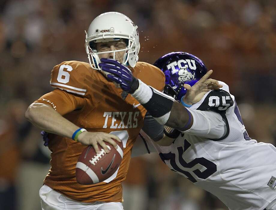 The Longhorns were shutdown last year by TCU and are an underdog to reverse the verdict in Fort Worth.