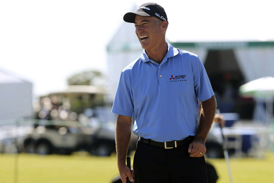 Corey Pavin, who lives in Dallas, is one of seven golfers in the field who live in Texas. Photo: Jerry Lara / San Antonio Express-News