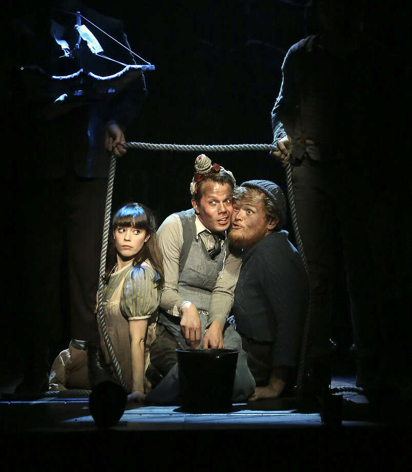 """""""Peter and the Starcatcher,"""" the backstory of """"Peter Pan,"""" is at the Majestic Theatre."""