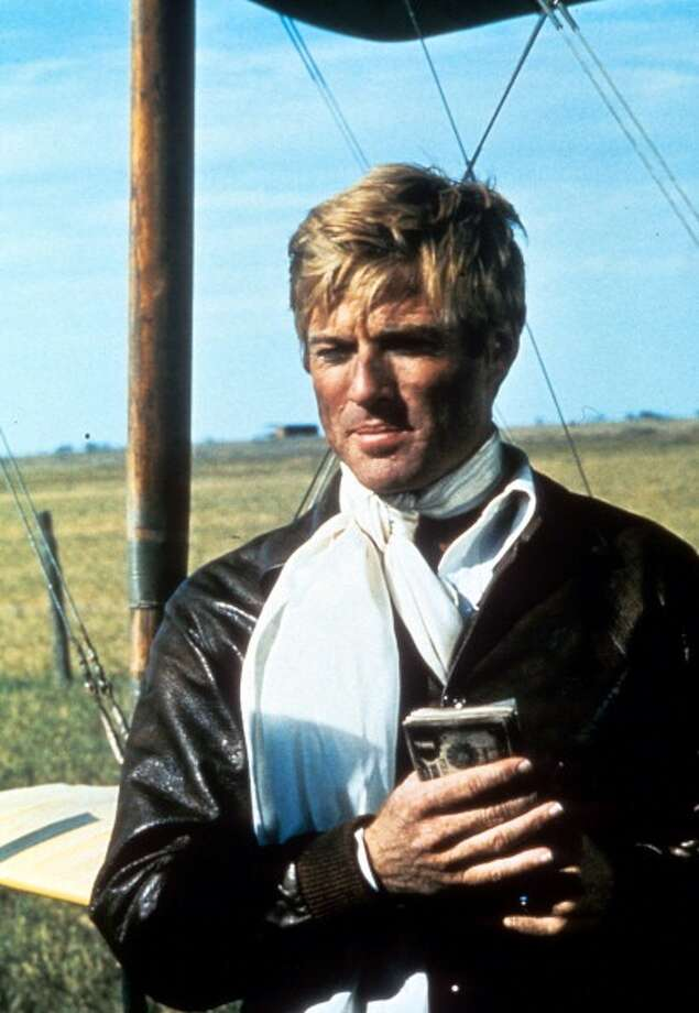 Robert Redford holds a box in a scene from the film 'The Great Waldo Pepper', 1975. (Photo by Universal/Getty Images) Photo: Archive Photos, Getty Images / 2012 Getty Images