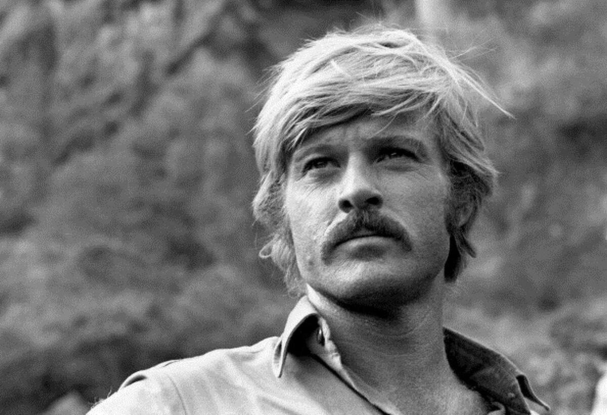Portrait of American actor Robert Redford during the filming of 'Butch Cassidy and the Sundance Kid' (directed by George Roy Hill), Durango, Mexico, 1968. (Photo by Lawrence Schiller/Polaris Communications/Getty Images)