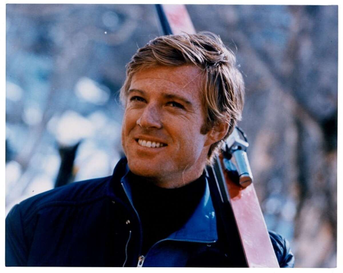 Robert Redford in a scene from the film 'Downhill Racer', 1969. (Photo by Paramount/Getty Images)