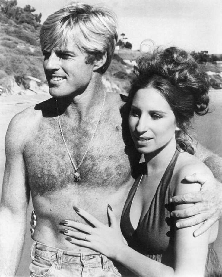 American actors Barbra Streisand, as Katie Morosky, and Robert Redford as Hubbell Gardner in 'The Way We Were', directed by Sydney Pollack, 1973. (Photo by Silver Screen Collection/Getty Images) Photo: Silver Screen Collection, Getty Images / 2013 Silver Screen Collection