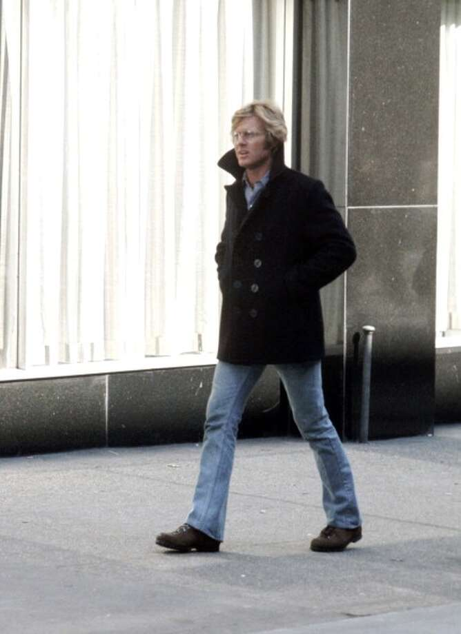 "Robert Redford during On the Set of ""Three Days of the Condor"" - January 23, 1975 at Ward's Island in New York City, New York, United States. (Photo by Ron Galella/WireImage) Photo: Ron Galella, WireImage / Ron Galella Collection"