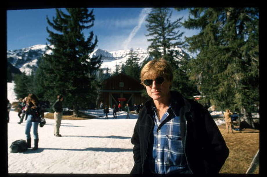 181016 01: Robert Redford poses for a picture at the Sundance Film Festival January 21, 1994 in Salt Lake City, Utah. Redford is master of ceremony at the festival which promotes the best in independent filmmaking. (Photo by Tom Smart/Liaison) Photo: Tom Smart, Getty Images / Hulton Archive