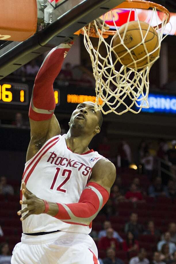 Dwight Howard   Position: Center  New team: Rockets  Old team: Los Angeles Lakers Photo: Smiley N. Pool, Houston Chronicle