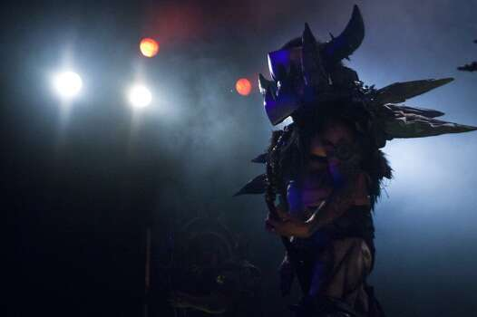 Gwar member Balsac the Jaws of Death, played by Mike Derks Photo: Marie D. De Jesús, Houston Chronicle