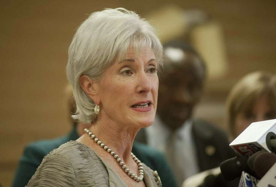 In a more rational world, U.S. Health and Human Services Chief Kathleen Sebelius would have resigned or been forced out of office. Photo: Laura Segall, Getty Images / 2013 Getty Images