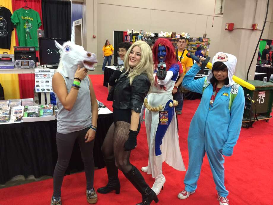 Fans enjoy themselves at Alamo City Comic Con. Photo: Rene Guzman/San Antonio Express-News
