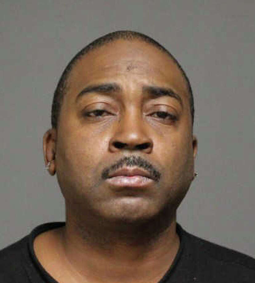 Anthony  Lewis, 46, of Bridgeport, allegedly tried to cash counterfeit payroll checks Thursday. Photo: Contributed Photo / Fairfield Citizen
