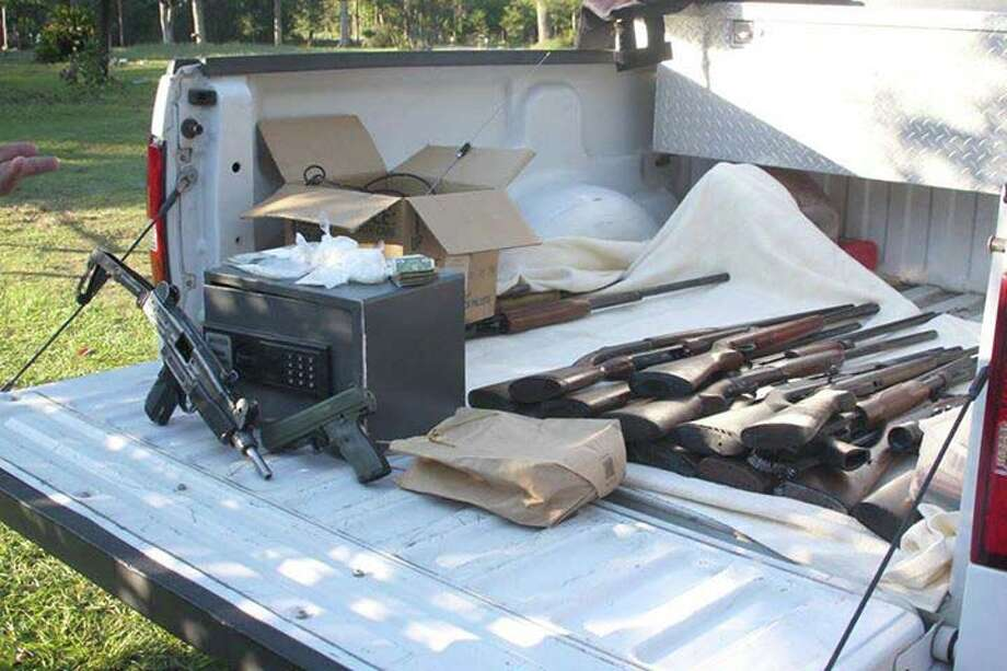 JCSO areests two and confiscates meth and guns Photo Courtesy Buna Beacon