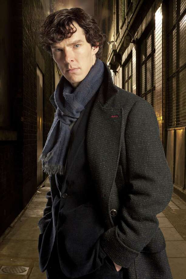 "Benedict Cumberbatch will reprise his role as a modern-day Sherlock Holmes set in present-day London in ""Sherlock,"" returning to PBS on Jan. 19. Photo: Associated Press"