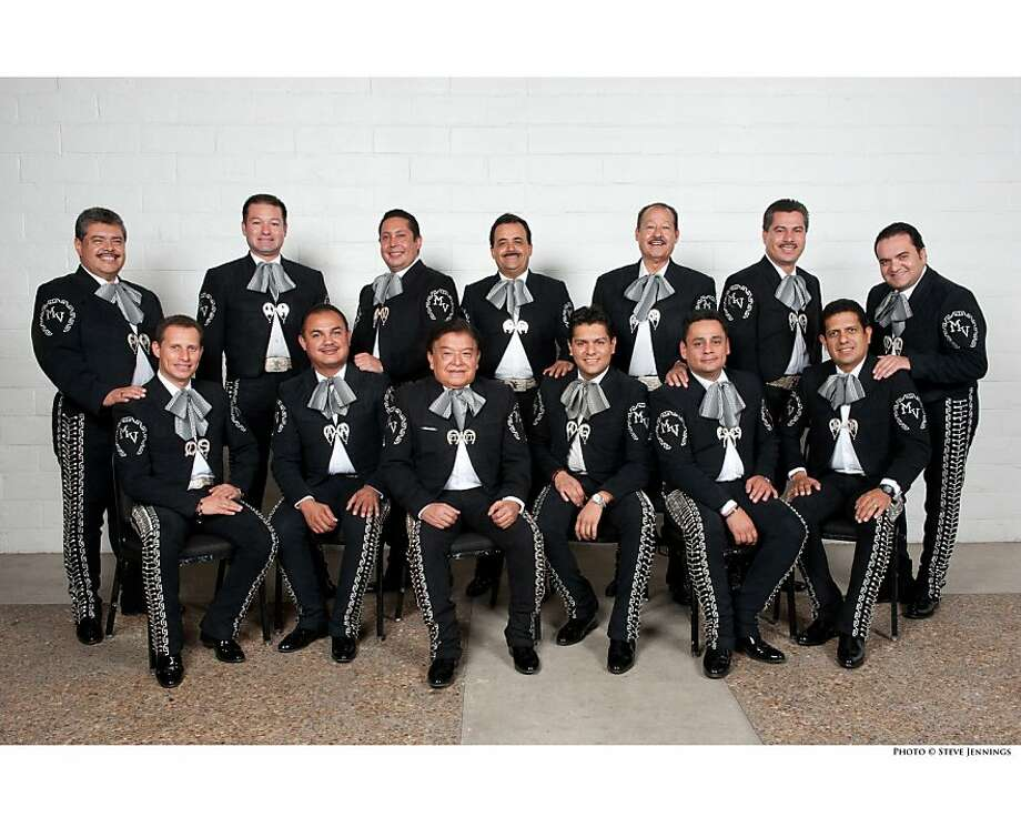 The Mariachi Vargas de Tecalitlán band will celebrate the Day of the Dead at Zellerbach Hall. Photo: Steve Jennings