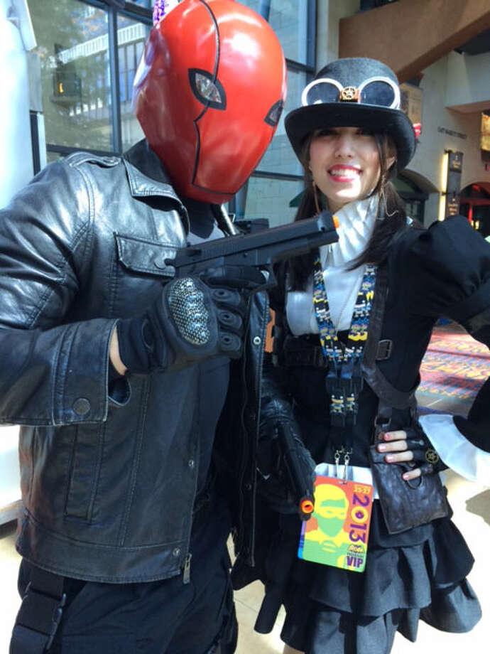 Fans enjoy themselves at Alamo City Comic Con. Photo: Photo By Rene Guzman/San Antonio Express-News