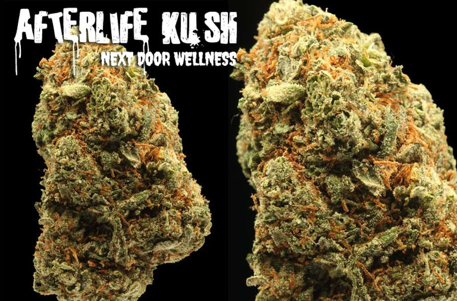 One hit of Afterlife Kush and you'll look like an extra from the Walking Dead.