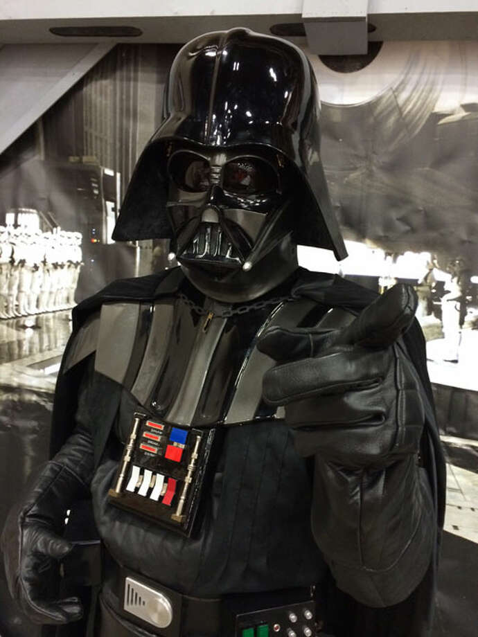 Darth Vader at Alamo City Comic Con.