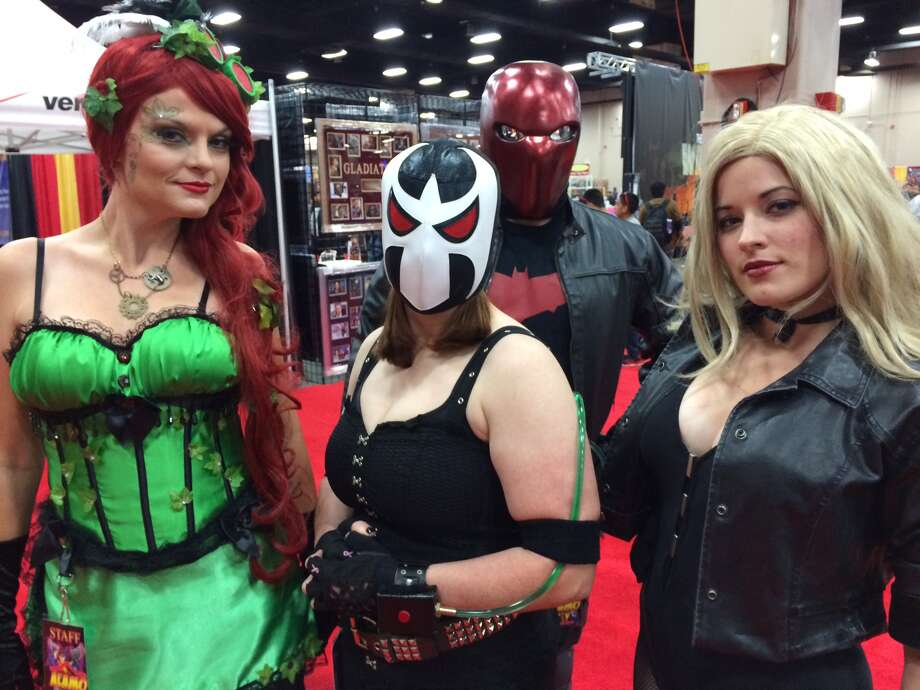 Fans enjoy themselves at Alamo City Comic Con. Photo: Photo By Rene Guzman/San Antonio Express-News