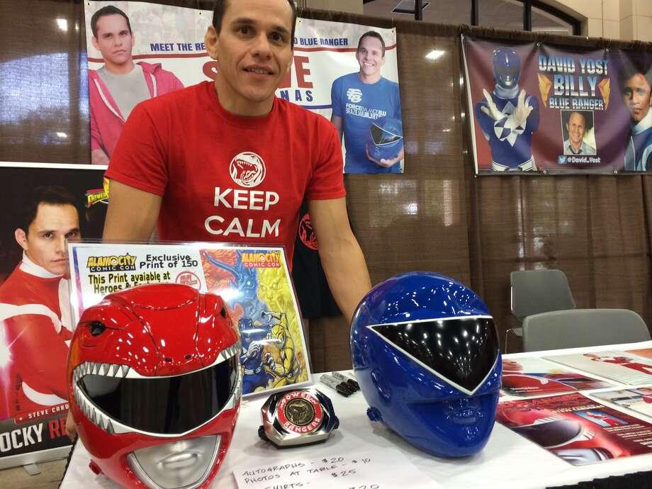 The Red Ranger at Alamo City Comic Con. Photo: Photo By Rene Guzman/San Antonio Express-News