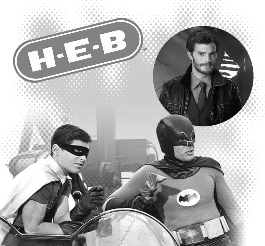 H-E-B, Jamie Dornan and Batman and Robin are in the news this week.