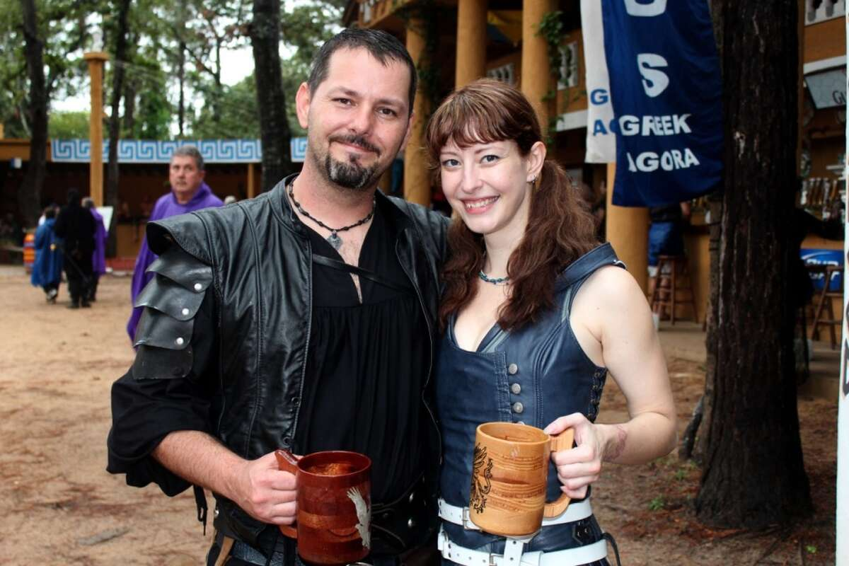 Scenes from the 2013 Texas Renaissance Festival's opening weekend.