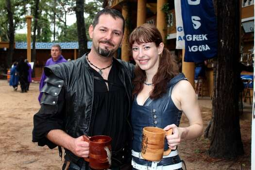 Scenes from the 2013 Texas Renaissance Festival's opening weekend. Photo: Jorge Valdez, Freelance / ONLINE_YES