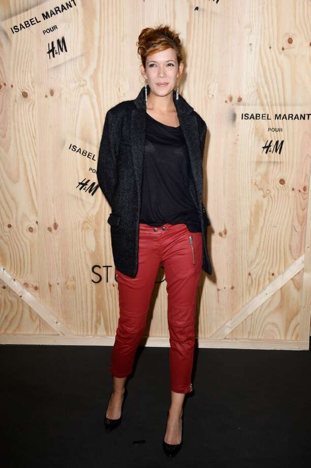 Melanie Doutey attends the 'Isabel Marant For H&M' Photocall at Tennis Club De Paris on October 24, 2013 in Paris, France. Photo: Pascal Le Segretain, Getty Images