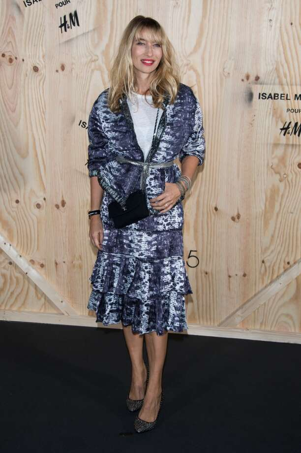 Alexandra Golovanoff attends the  'Isabel Marant For H&M' : Photocall At Tennis Club De Paris on October 24, 2013 in Paris, France. Photo: Dominique Charriau, WireImage