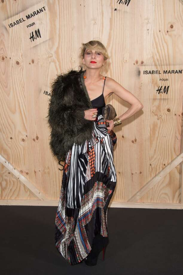 Catherine Baba attends the  'Isabel Marant For H&M' : Photocall At Tennis Club De Paris on October 24, 2013 in Paris, France. Photo: Dominique Charriau, WireImage