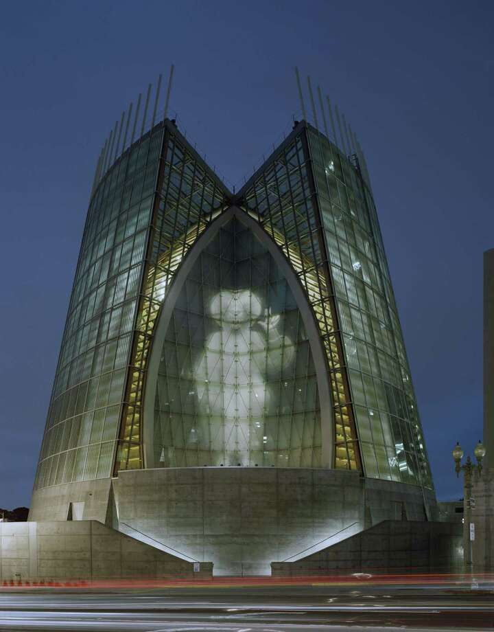Among the buildings in Kendall/Heaton Associates' portfolio is the Cathedral of Christ the Light in Oakland, Calif., designed by Skidmore, Owings & Merrill LLP. Photo: Timothy Hursley / ONLINE_YES