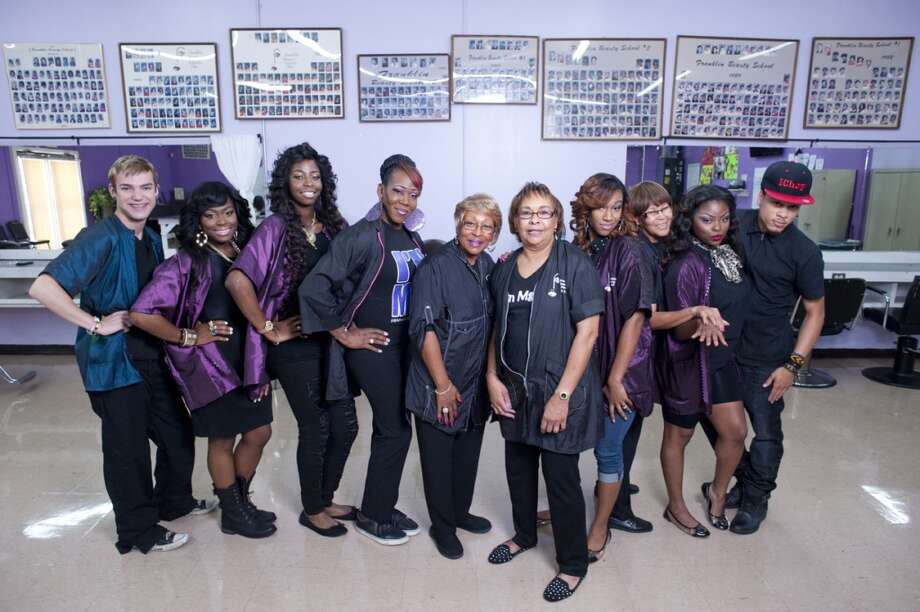 "The cast of ""Houston Beauty"" a new reality show on OWN based in Houston's century-old Franklin Beauty School. Photo: Brandon Thibodeaux, Oprah Winfrey Network"