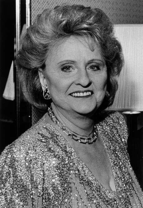 Maxine Mesinger in 1986